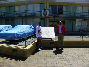 Me and Mr. Walton at the Lorraine Motel