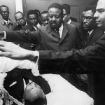 Dr. King's Friends Close the Casket